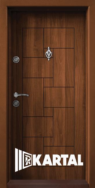 Блиндирана врата Kartal Т-100 Златен Дъб