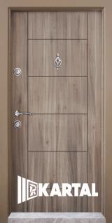 Блиндирана врата Kartal Т-102 цвят Спарта