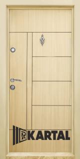 Блиндирана врата Картал Т-587 Зебра